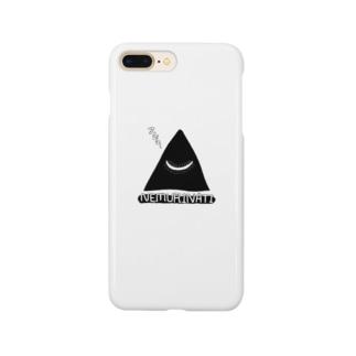 ネムリナティのマーク:ブラック Smartphone cases