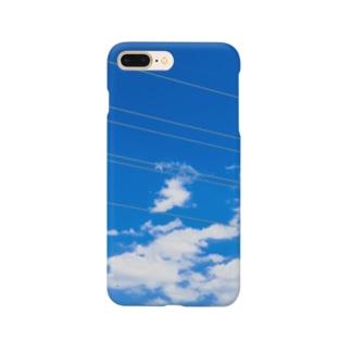 アオゾラシリーズ Smartphone cases