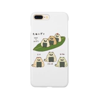 たぬにぎり Smartphone cases