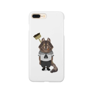 Sue visual storeの水兵さんに転職したオオカミ Smartphone cases