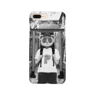 神社タヌキ Smartphone cases