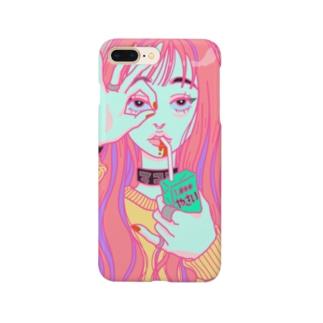 やさいのみ子 Smartphone cases