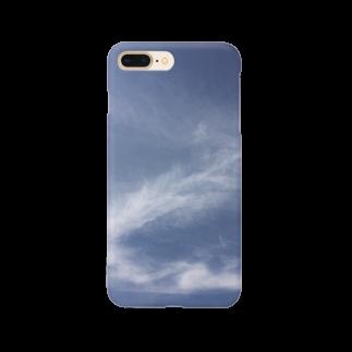 オリジナルグッズ販売所の空の青 Smartphone cases