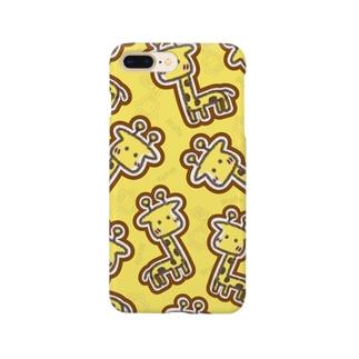 きりんのスマホケース Smartphone cases