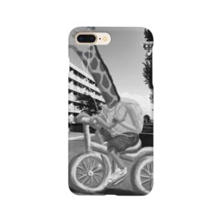 CHARINKO  KIRIN(モノクロver.) Smartphone cases