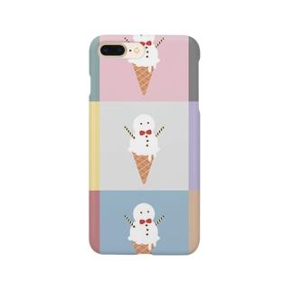 あいすくりーむ Smartphone cases