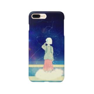 夜空列車「夢旅線路」 Smartphone cases