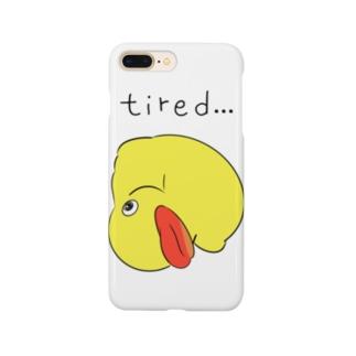 アヒルのおもちゃ Smartphone cases