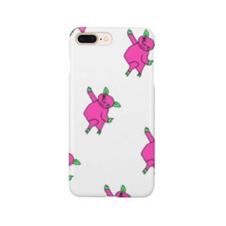 ぶた 増毛 Smartphone cases