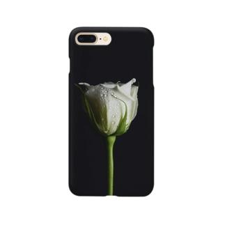 白薔薇 Smartphone cases