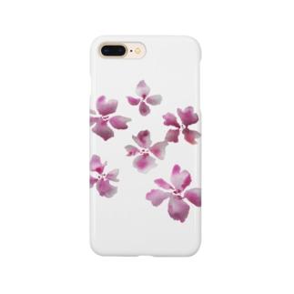 水彩のさくら Smartphone cases