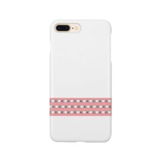 kokoro(ハート♡ピンク) Smartphone cases