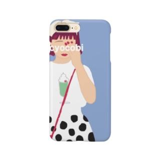 ちょこびのiphoneケース Smartphone cases