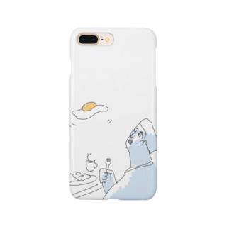浮遊するモーニングエッグ Smartphone cases