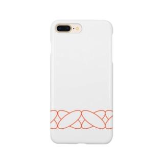 ぷっくりクロス Smartphone cases