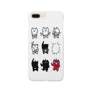 へんしんねこ Smartphone cases