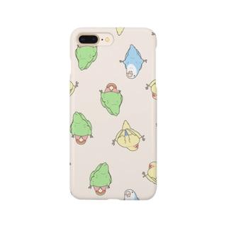 つかまりコザクラインコ Smartphone cases