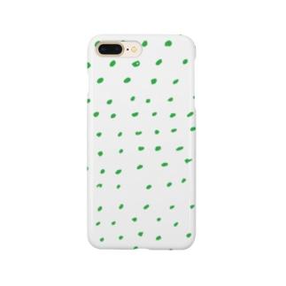 green dot Smartphone cases