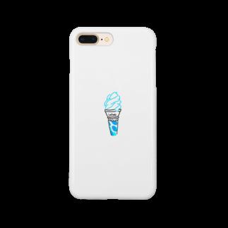 kanipanのアイすクリーム Smartphone cases