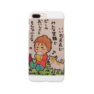 みんな笑顔 Smartphone cases
