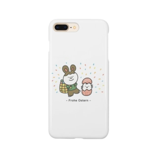 Frohe Ostern: ドイツ語イラストグッズ Smartphone cases