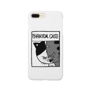 猫又スプリットフィアーフェイス Smartphone cases
