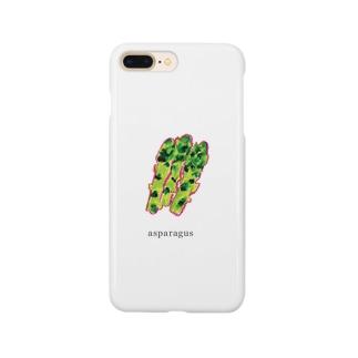 アスパラグッズ Smartphone cases
