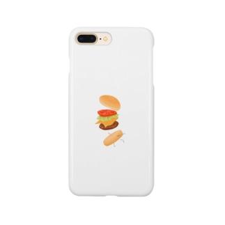ハンバーガー君 Smartphone cases