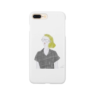 glass girl Smartphone cases