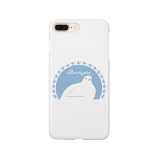 ライチョウ Smartphone cases