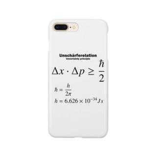 不確定性原理:量子力学:ハイゼンベルク:数式:物理学・科学・数学・学問 Smartphone cases