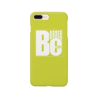 ボーダーコリーロゴ Smartphone cases