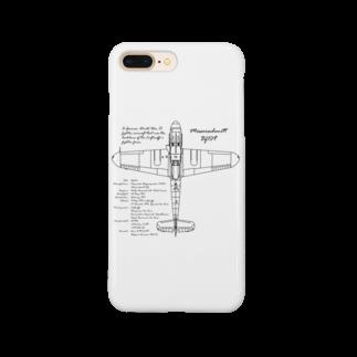 アタマスタイルのメッサーシュミット:戦闘機:ドイツ軍:ナチス:WW2:第二次世界大戦:太平洋戦争 Smartphone cases