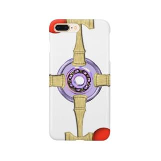 剣玉スピナー Smartphone cases