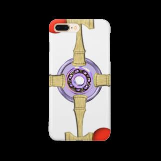 アズペイントの剣玉スピナー Smartphone cases