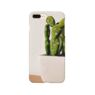 サボテン Smartphone cases