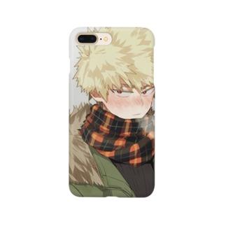 僕のヒーローアカデミア爆豪勝己iPhoneケース Smartphone cases