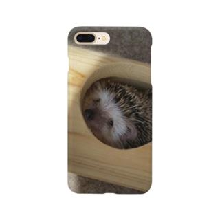 ちらみハリネズミ Smartphone cases