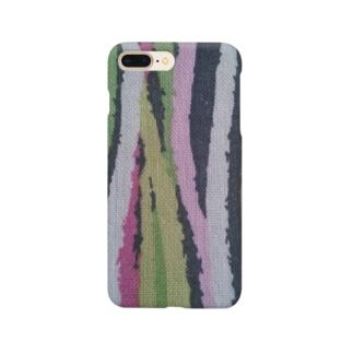 カラフルウィード  Colorful weed Smartphone cases