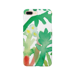上田アーモンド のSpring grass Smartphone cases