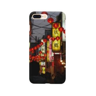 横浜_中華街 #1 Smartphone cases