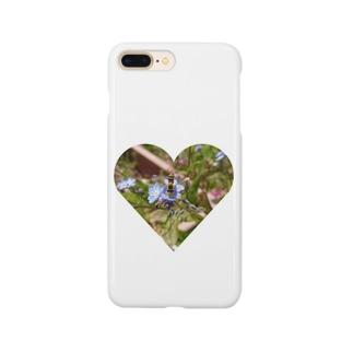 フラワーbee Smartphone cases