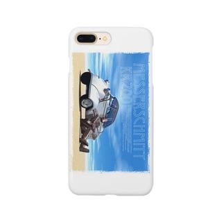 メッサーイラスト01 Smartphone cases