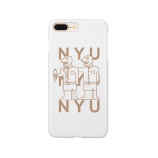 ワニのにゅにゅにゅ Smartphone cases