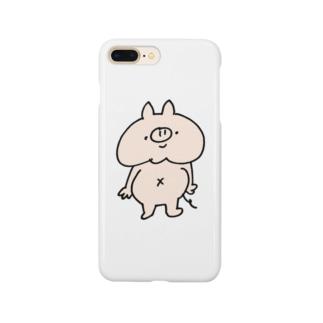 ぽちゃぶた Smartphone cases