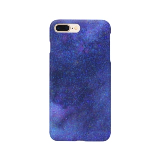 Galaxy Blue Smartphone cases