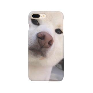 ふい顔のらんまるくん Smartphone cases