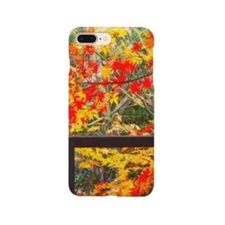京都町家紅葉 Smartphone cases