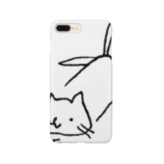 ネコチャン Smartphone cases