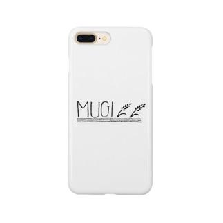 MUGI - 麦 Smartphone cases